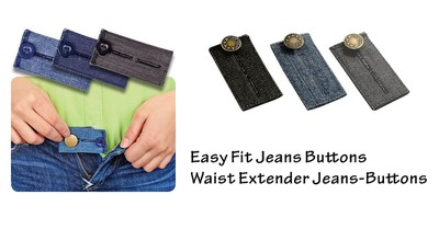Easy fit buttons & hooks