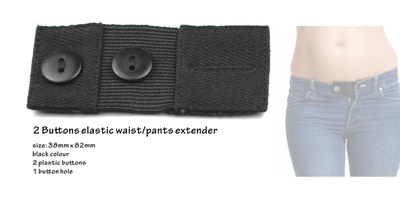 Elastic waist extenders